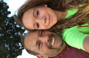 PawPaw and his girl, Hailey